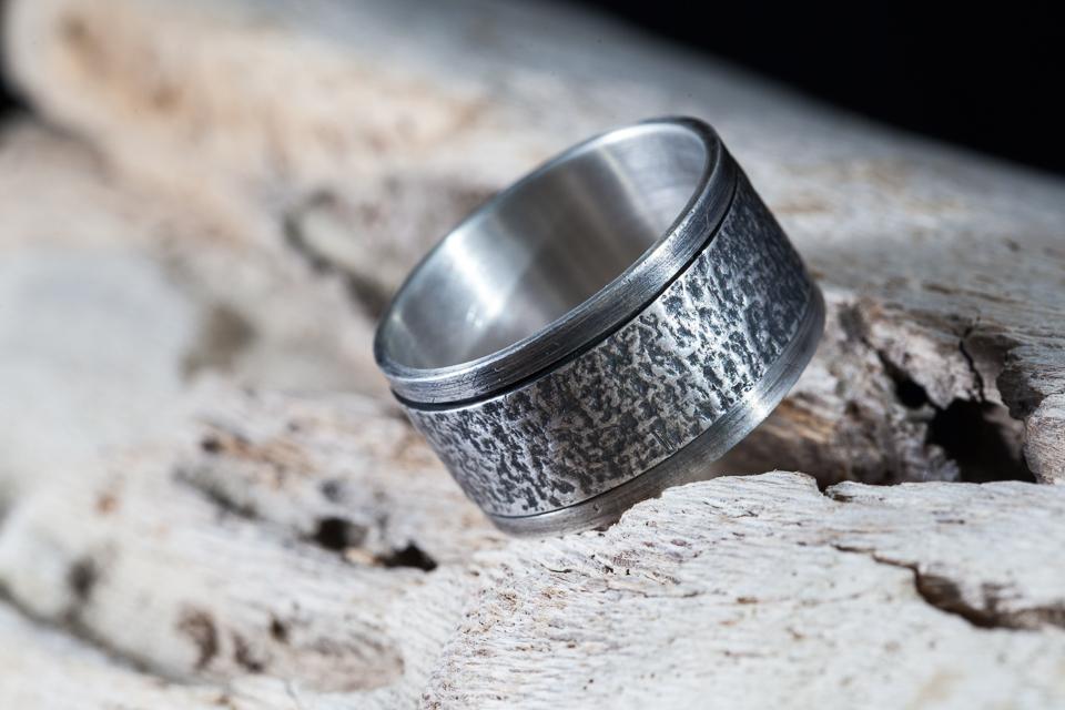 Zilveren Draai Ring Profiel Fie Handmade Jewellery
