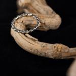 1e gehalte zilver_sterling zilver_925 zilver_ ring_gedraaid_goudsmid_edelsmid_Breda_ sieraden_handgemaakt