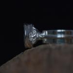 1e gehalte zilver_sterling zilver_925 zilver_ring_dubbel_glad_band_gietbak_bak_ gieten_watergieten_blauw_grijs_grijze_parel_ goudsmid_edelsmid_Breda_sieraden_ handgemaakt
